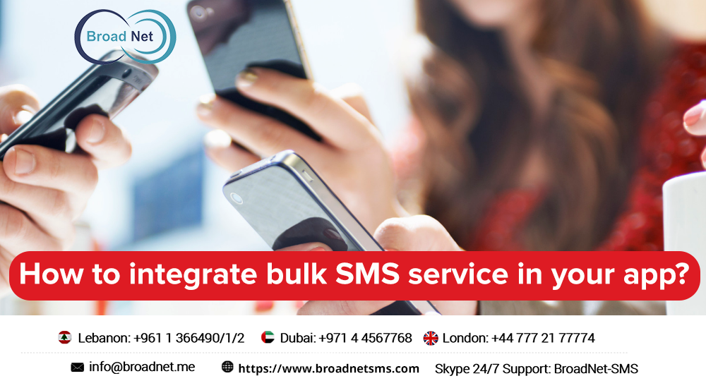 How to Integrate Bulk SMS Service in Your App