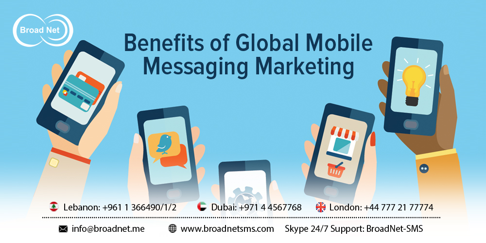 Benefits of Global Mobile Messaging Marketing