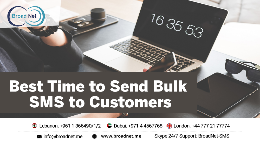 Best Time to Send Bulk SMS to Customers